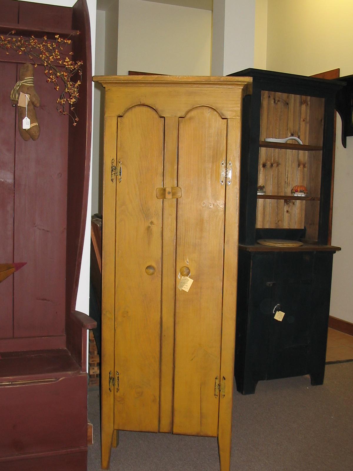 Double Door Chimney Cabinet