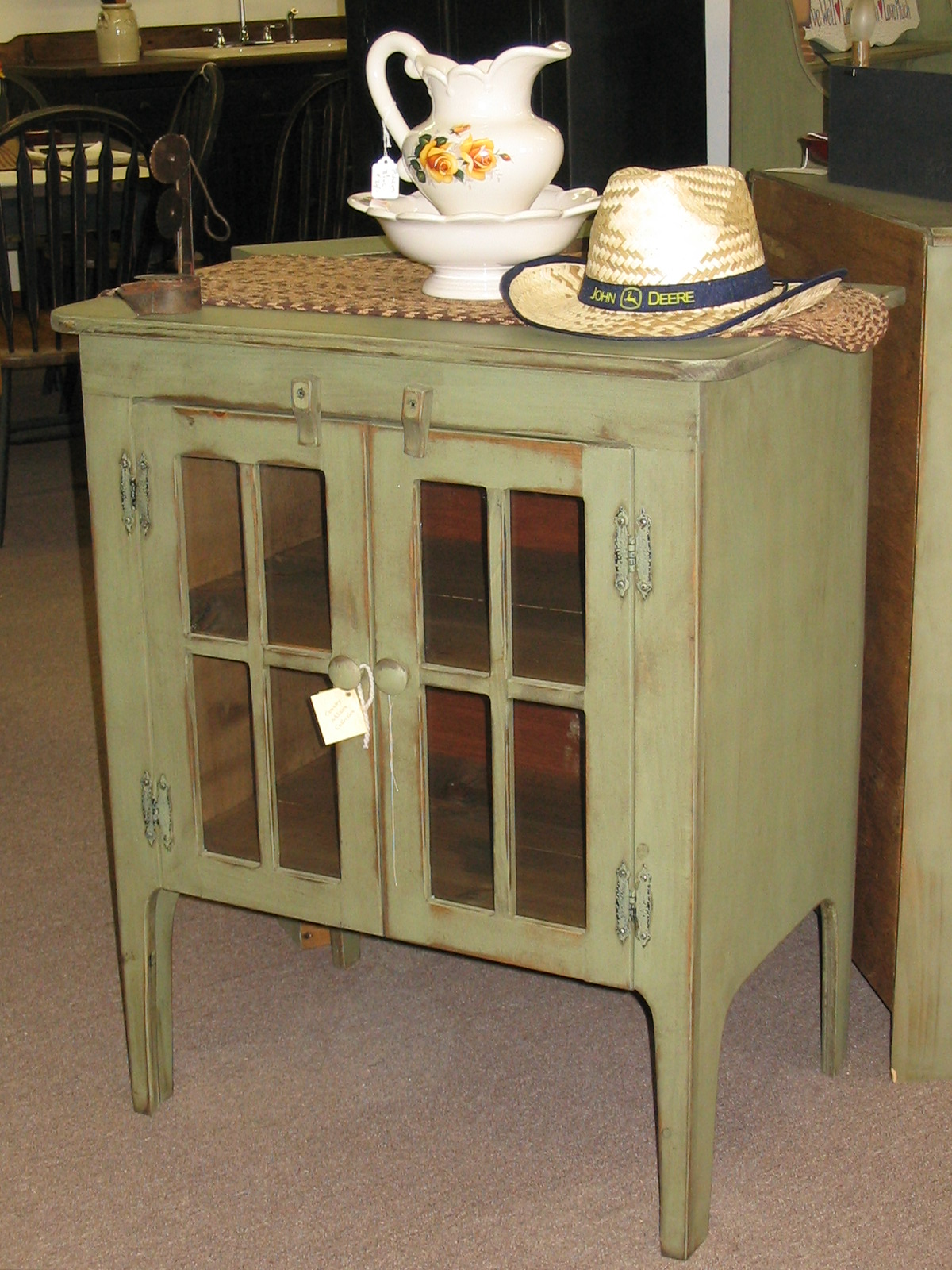 Low Glass Cabinet Country Additions Furniture Birdsboro Pa